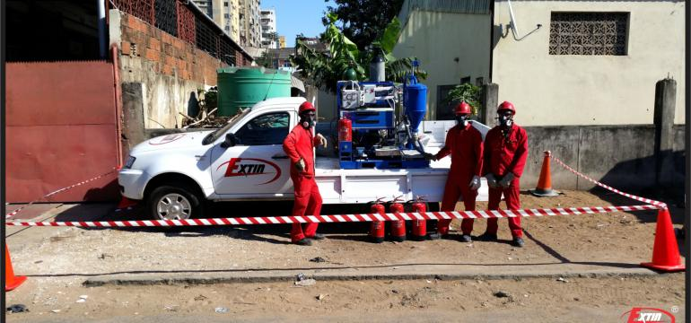 Technical team – firefighting management