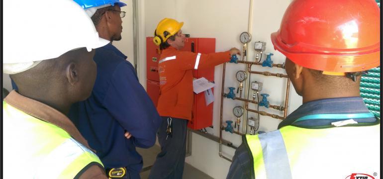Training on firefighting system - Sprinkler