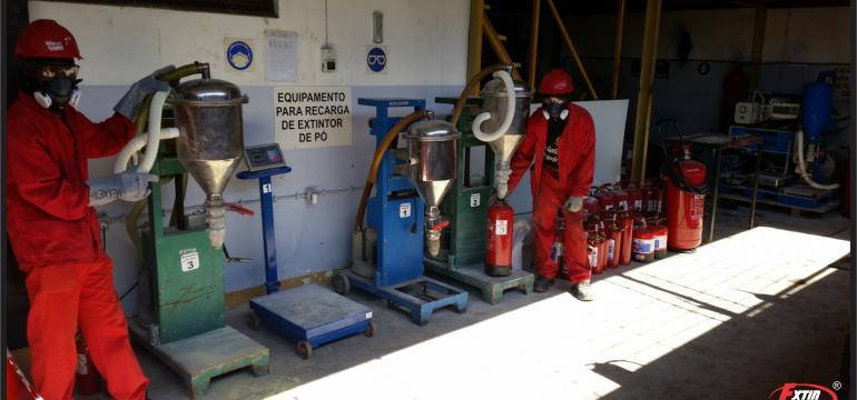 Firefighting and maintenance workshop