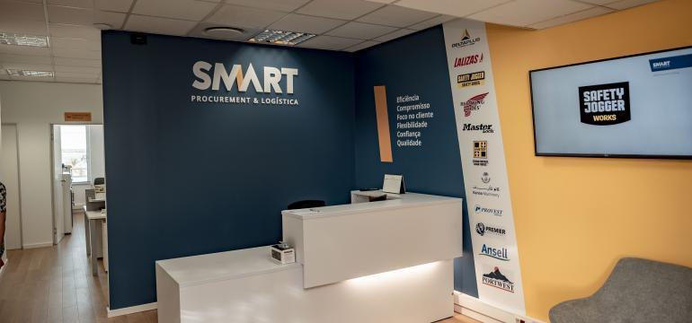Partial view of Smart Multiserviços LDA facilities