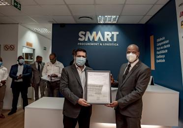 Momento de entrega do certificado