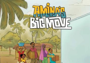 Amina's Big Move