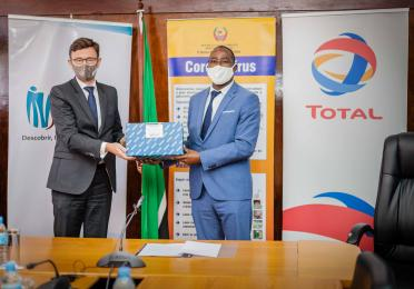 Total delivers 12000 COVID-19 sample collection kits