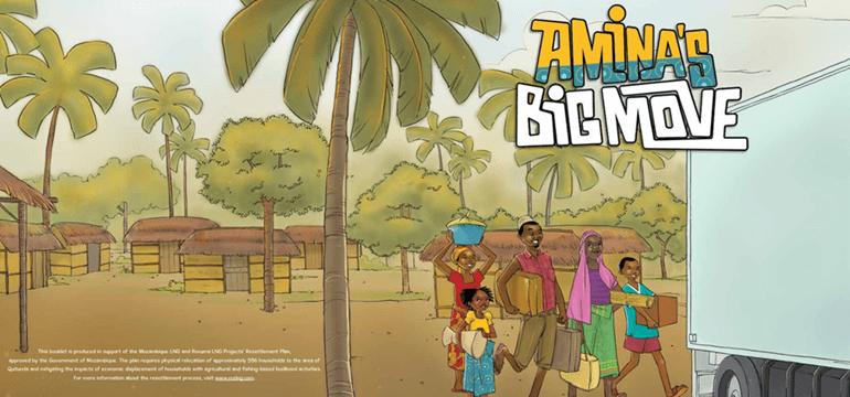 Amina's Big Move booklet
