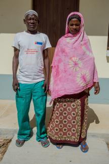 Mrs. Soabo Issa Momede and Mr. Ali Ussene Simba